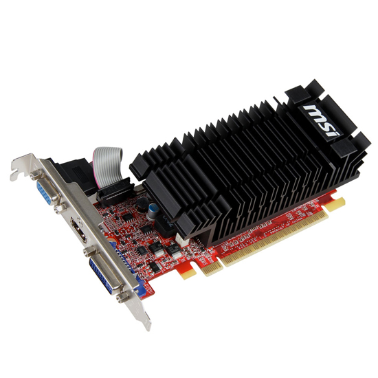 CARTE GRAPHIQUE MSI  PCIEX GeForce 610 2GO (N610-2GD3H/LP)