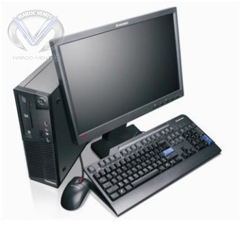Pc Portable THINKCENTRE M70e SFF Intel Dual Core E5500 0830A43
