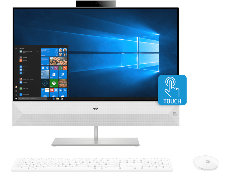 Pavilion All-in-One 24-xa0015nk i7-9700T 8GB 1TB Windows 10 Famille