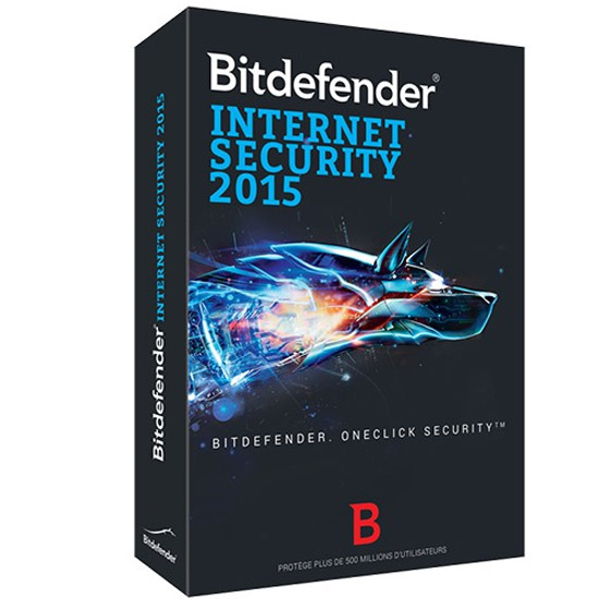 Bitdefender Internet Security2015 - 1 an 1 poste B-QBDIS-5X1P001