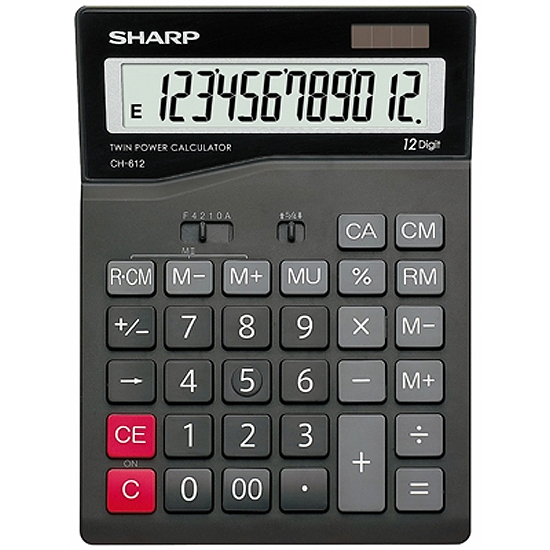 CALCULATRICE SHARP CH 412