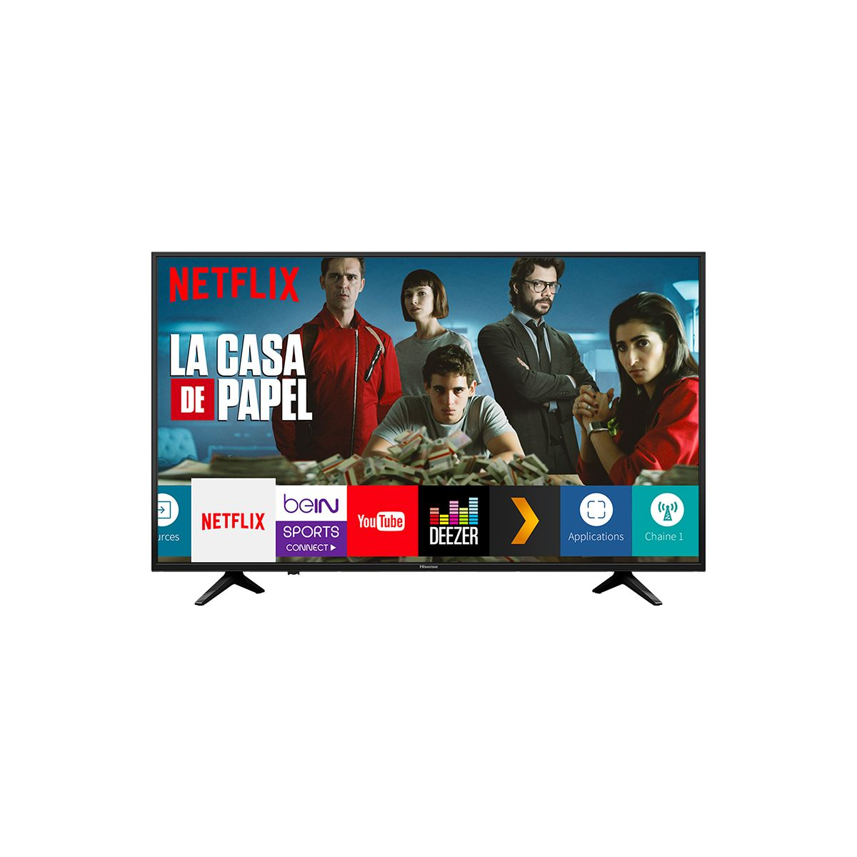 "Smart TV 58"" (3840x2160) Ultra HD 4K Wifi LAN HDMI USB 2.0 H58A6100"