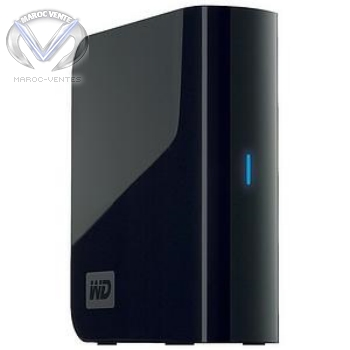DISQUE DUR WD EXTERNE 2TB MY BOOK WORLD ETHERNET HDD2TB