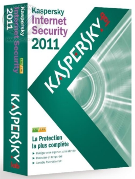 Licence Internet Security 2011 -1 an 1 poste- français KL1837FBAFS