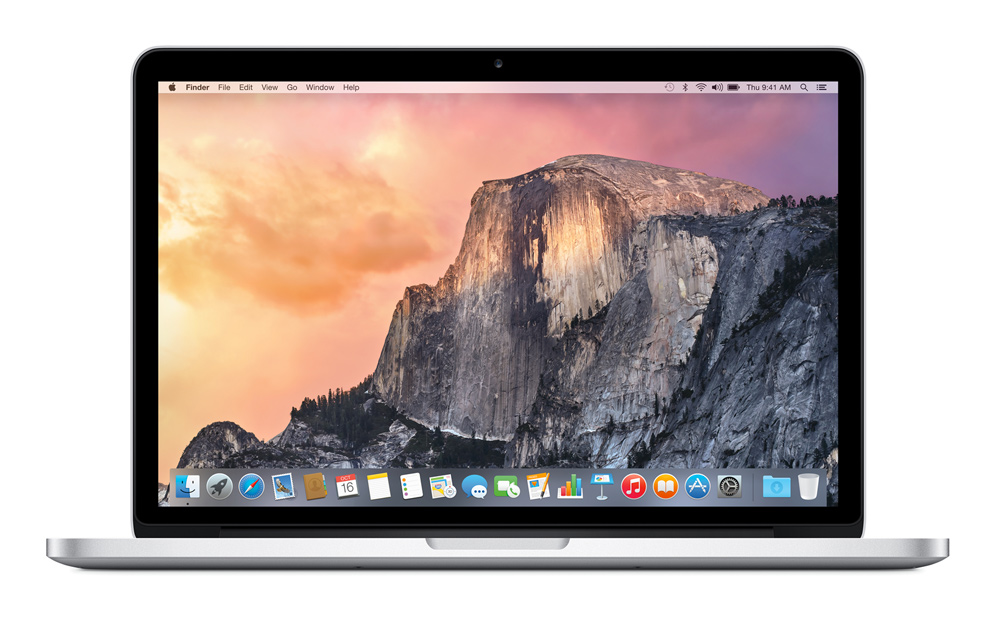 MacBook Pro 13-inch Retina Core i5 2.7GHz/8GB/256GB/Iris Graphics 6100. MF840F/A