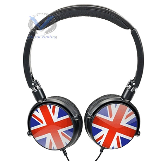 Casque Multidesig MY-X-BASS, Clip amovible-Casque Multidesig MY-X-BASS, Clip amovible