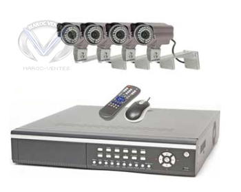 Kit camera de surveillance QH50DVR8C
