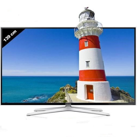 "TELEVISEUR SAMSUNG 55"" LED SMART 3D UE55H6400"